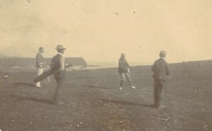 Golfers on West Cliff course early 1900s (2)